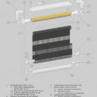 Рулонная штора B-52 Стандарт. 3D схема конструкции.