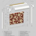 UNI 1 для пластиковых окон. 3D схема конструкции.
