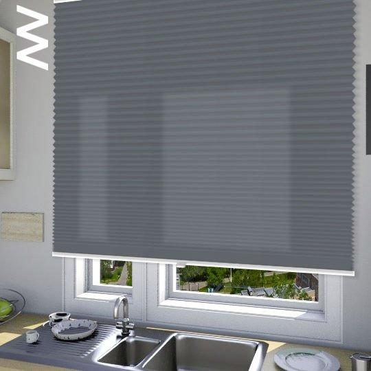Плиссе Cara В1 10106. 3D модель общий вид.