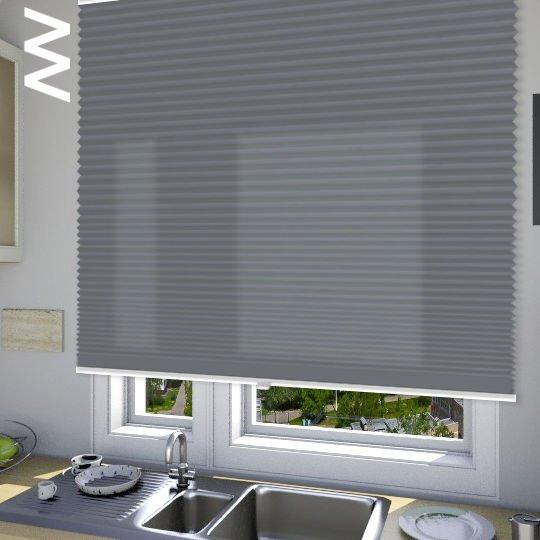 Плиссе Cara Crush 10209. 3D модель общий вид.