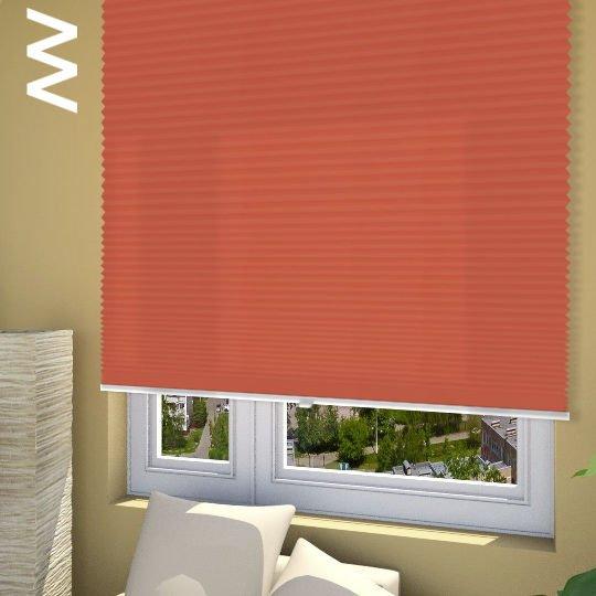 Плиссе Cara Perlmutt Color 20310. 3D модель общий вид.