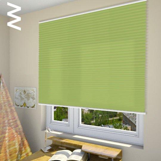 Плиссе Cara Perlmutt Color 20313. 3D модель общий вид.