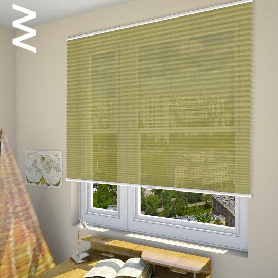 Плиссе Inula 30632. 3D модель общий вид.